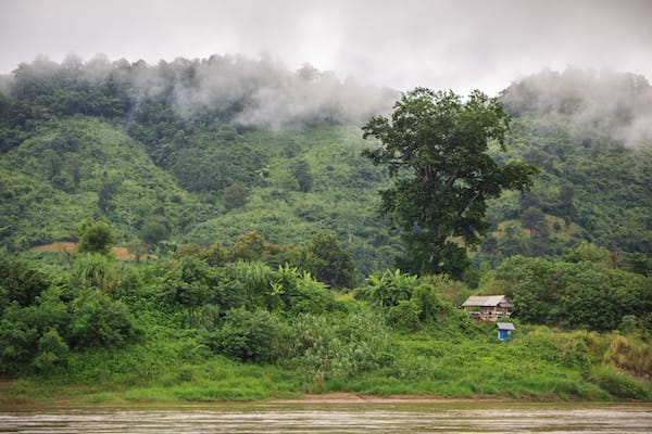 Luang Say's 2-Day Huay Xai to Luang Prabang Day Two - View Along Upper Mekong River