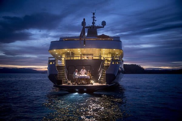 Aqua Blu's 8-Day Sorong to Sorong - Day Five - Private Dinner On Board