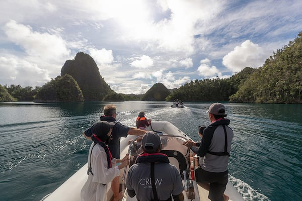 Aqua Blu's 8-Day Bali to Komodo - Day Four - Excursion on Tenders