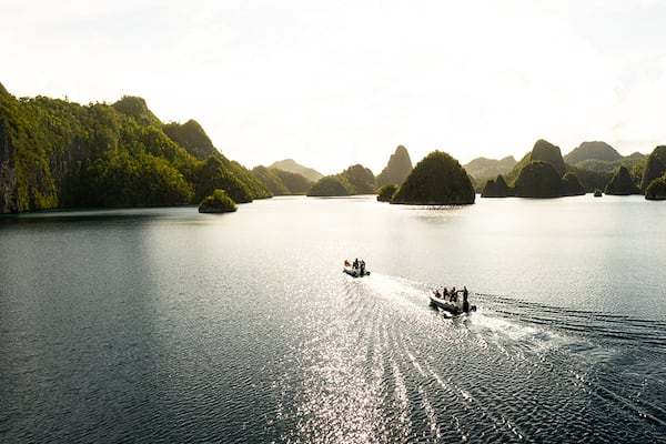 Aqua Blu's 8-Day Bali to Komodo - Day Eight - Skiff Ride