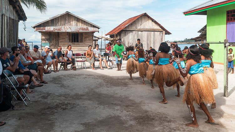 Aqua Blu's 13-Day Spice Island to Flores - Day Five - Traditional Dance Performance