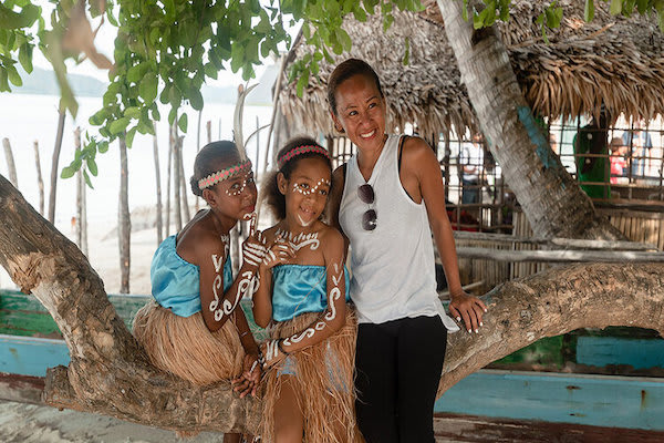 Aqua Blu's 13-Day Flores to Spice Island - Day Four - Village Children after Dance Performance