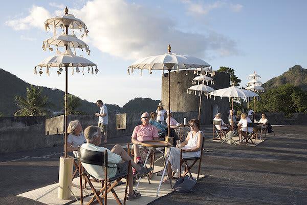 Aqua Blu's 13-Day Raja Ampat to Spice Island - Day One - Dutch Fort Belgica