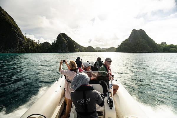 Aqua Blu's 13-Day Raja Ampat to Spice Island - Day Eight - Skiff Ride