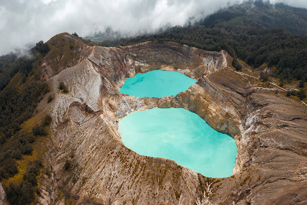 Aqua Blu's 13-Day Raja Ampat to Spice Island - Day Eleven - Colorful Lakes at Kelimutu Volcano