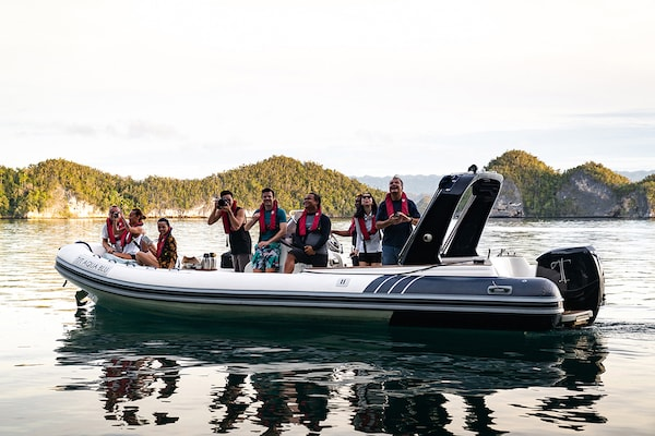 Aqua Blu's 13-Day Spice Island to Raja Ampat - Day Two - Excursion on Tenders