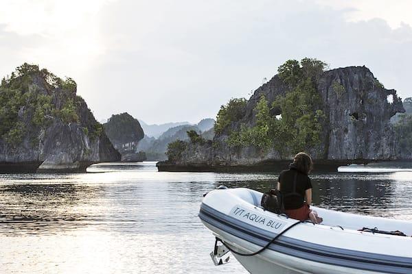 Aqua Blu's 13-Day Spice Island to Raja Ampat - Day Thirteen - Skiff Ride