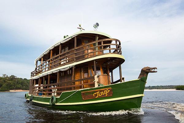 Jacaré-Tinga's 4-Day Anavilhanas Park Rio Negro Cruise Day Four - Disembarkation.