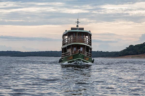 Jacaré-Tinga's 5-Day Jau National Park Cruise Day Five - Disembarkation.