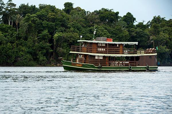Jacaré-Tinga's 7-Day Anajaú Cruise Day Seven - Disembarkation.