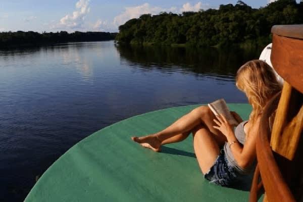 Jacaré-Tinga's 10-Day Acara Sierra Cruise Day Six - Relaxing Onboard.