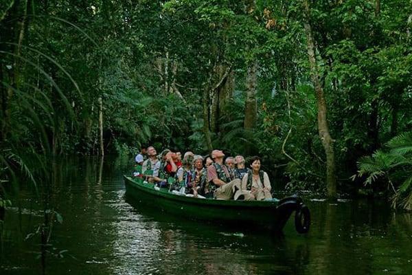 Jacaré Acu's 5-Day Jau National Park Cruise Day Three - Skiff Exploration.