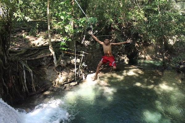 Ombak Putih's Komodo to Bali - Day Five - Melo Waterfall