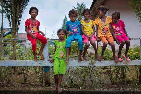 Ombak Putih's Kaimana to Sorong - Day Five - Island Kids