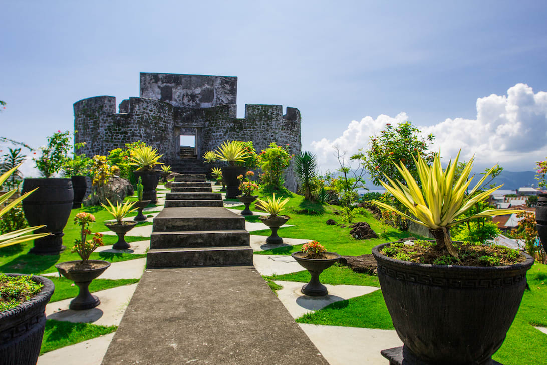 Ombak Putih's Kaimana to Sorong - Day Ten - Dutch Fort Ternate