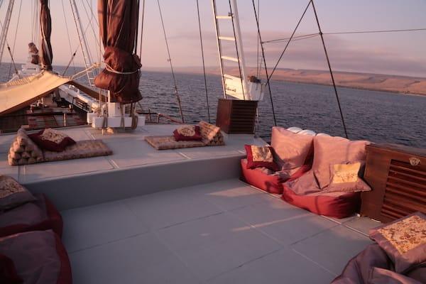 Katharina's Komodo to Bali - Day Eight - Top Deck Lounge