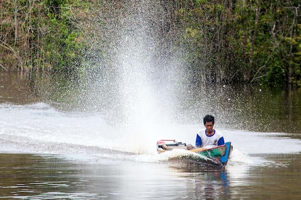 Rahai'i Pangun's 4-Day Relaxing Orangutan & Dayak Village Upriver - Day Two - Local People