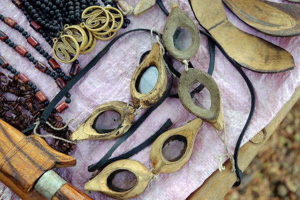 Sequoia's 8-Day Batanta Waigeo - Day Two - Goggles made by local people