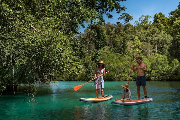 Sequoia's 8-Day Batanta Waigeo - Day Five - Stand Up Paddle Boards