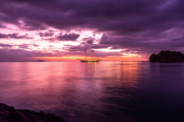 Lamima's 8-Day Komodo National Park - Day Five - Amazing Sunset View