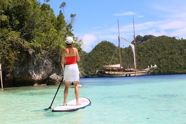 Lamima's 11-Day Greater Raja Ampat - Day Four - Kayaking
