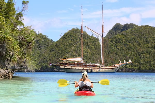 Lamima's 11-Day Greater Raja Ampat - Day Five - Excursion on Kayak