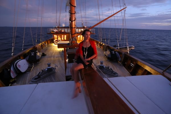 Lamima's 8-Day Raja Ampat - Day Four - Evening On Board