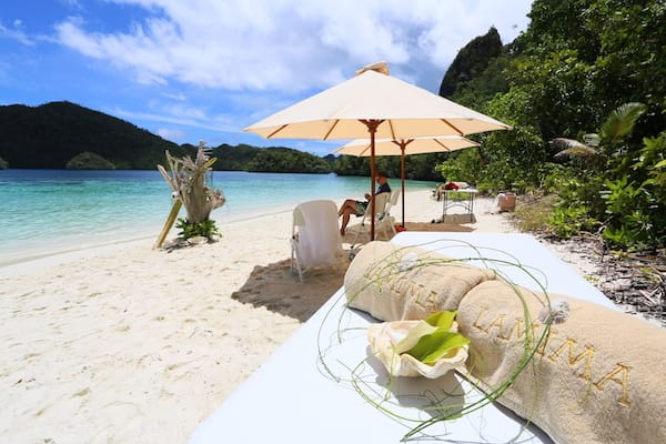 Lamima's 8-Day Raja Ampat - Day Seven - Private Beach Camping