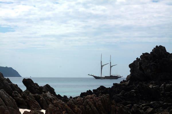 Lamima's 8-Day Around Phuket - Day Six - Lamima Anchoring