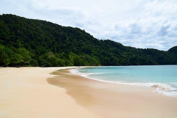 Lamima's 8-Day Around Phuket - Day Eight - Quiet Crystal Clear Beach