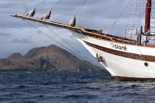 Tiare's 10-Day Komodo Islands - Day Four - Tiare's Side View
