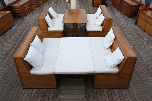 Tiare's 10-Day Komodo Islands - Day Five - Sundeck Lounge