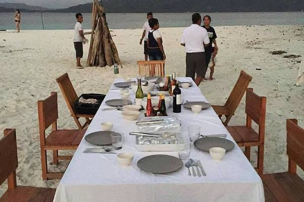 Tiare's 12-Day Maumere & The Forgotten Islands - Day Nine - Private Dinner On Beach