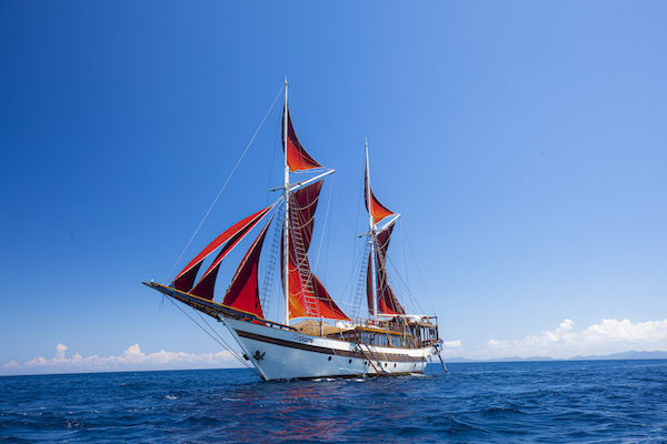 Tiare's 12-Day Ring Of Fire - Day One - Sailing