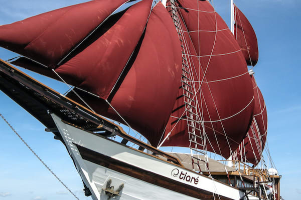 Tiare's 12-Day Ring Of Fire - Day Four - Sailing