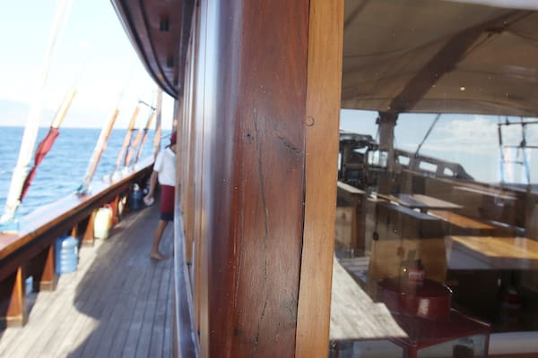 Tiare's 12-Day Raja Ampat - Day Eight - Boat Details
