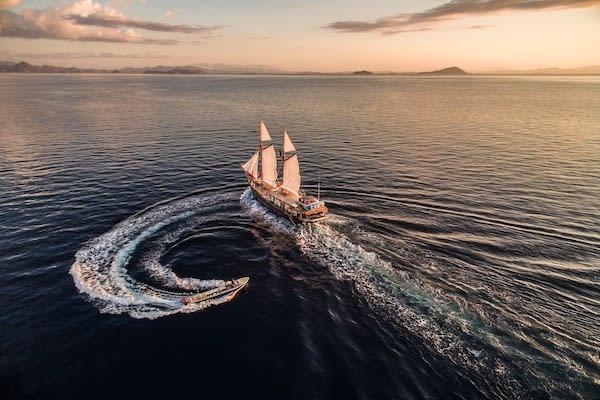 Carpe Diem's 8-Day Central and North Raja Ampat - Day Five - Sailing