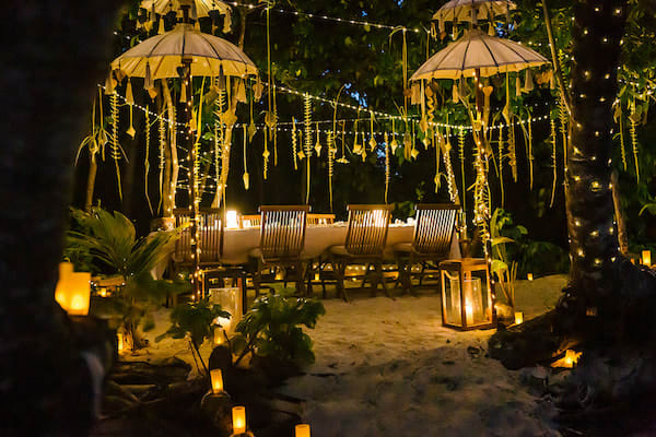 Rascal's 5-Day Komodo Islands - Day Two - Private Dinner Set Up on Island
