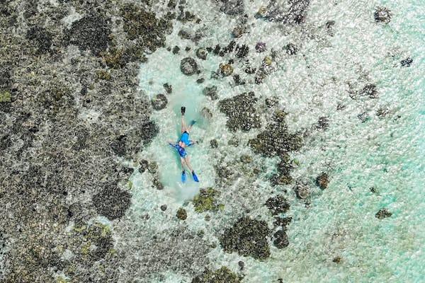 Rascal's 5-Day Komodo Islands - Day Three - Snorkeling Drone View