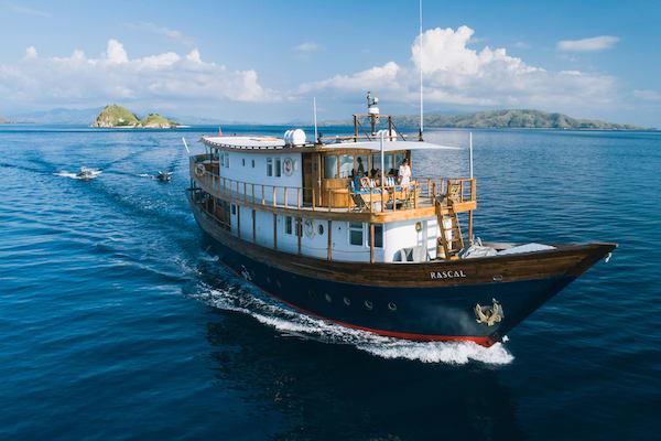 Rascal's 5-Day Komodo Islands - Day Five - Sailing