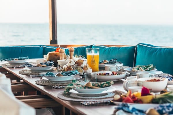 Rascal's 8-Day Raja Ampat - Day Six - Sumptuous Lunch On Board