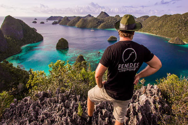 Fenides' 11-Day Raja Ampat - Day Five - Stunning View from HIlltop