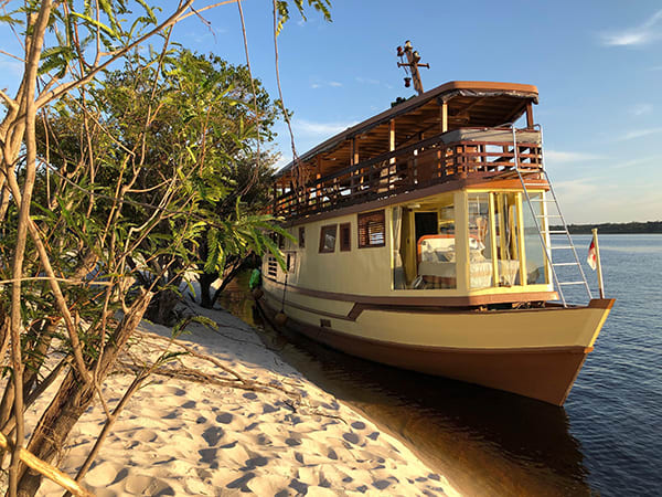 Amazon Odyssey's 5-Day Evasion Cruise Day Three -  Relaxing Beach Day.