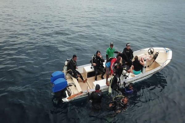 Lady Denok's 9-Day Komodo Cruise - Day Two - Dive Trip