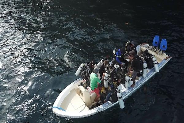 Lady Denok's 10-Day Komodo Cruise - Day Two - Dive Trip