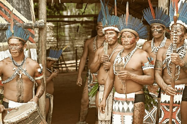 Untamed Amazon's 4-Day Tukano Cruise Day Four - Community Visit.