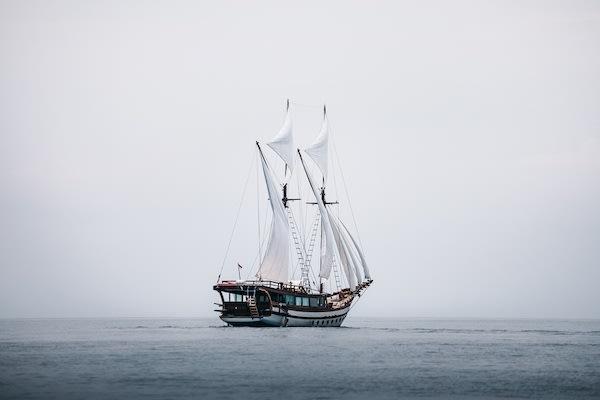 Senja's 9-Day Komodo Islands - Day Eight - Senja Anchoring