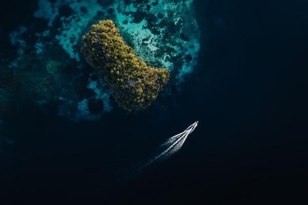 Senja's 9-Day Komodo Islands - Day Nine - Drone View