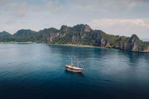 Senja's 11-Day Sunda & Forgotten Islands - Day One - Senja Drone View