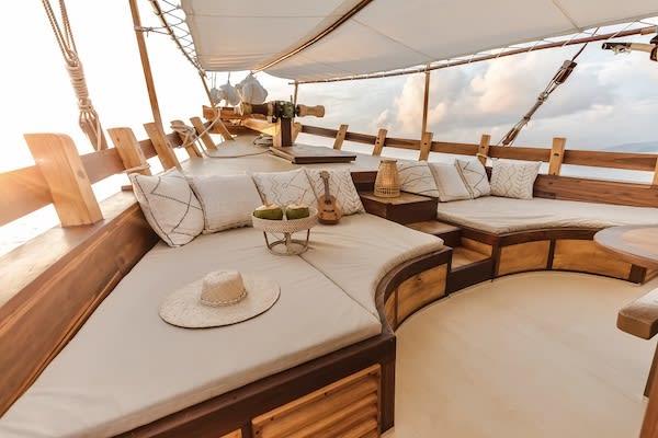 Senja's 11-Day Sunda & Forgotten Islands - Day Five - Dining Lounge